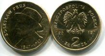 2 злотых 2012 год (Болеслав Прус - писатель) Польша