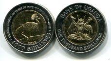 1000 шиллингов 2012 год (50 лет независимости) Уганда