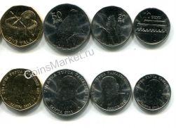 Набор монет Самоа 2011 год (не полный)
