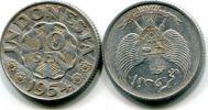 10 сен 1951, 1954 год Индонезия