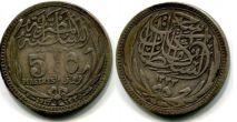 5 пиастр 1917 год Египет