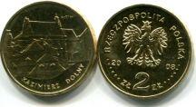 2 злотых 2008 год (Казимерж Дольны) Польша