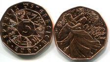 5 евро 2012 год Австрия