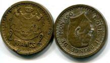 2 франка 1945 год Монако