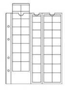 Лист в альбом формата Optima для евро наборов на 40 ячеек (для 5-ти наборов)