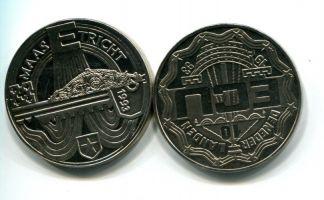 10 экю 1993 год город Мастрихт) Нидерланды