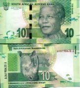 10 ранд Южная Африка 2012