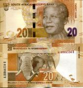 20 ранд Южная Африка
