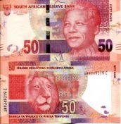 50 ранд Южная Африка