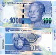 100 ранд Южная Африка