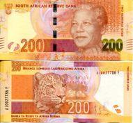200 ранд Южная Африка