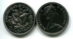 1 доллар 1970 год (Манитоба - канадская провинция) Канада