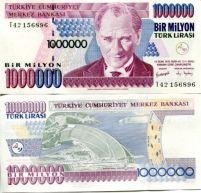 1000000 лир Турция