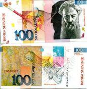100 толлар 2003 год Словения