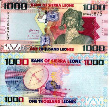 1000 леоне 2010 год Сьерра-Леоне