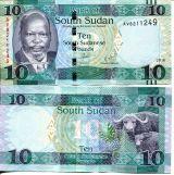 1 фунт 2011 год Южный Судан
