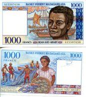 1000 франков Мадагаскар