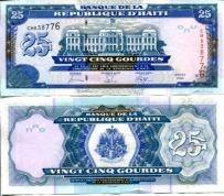 25 гурд 2006 год Гаити