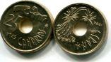 25 песет 1994 год (Канарские острова) Испания