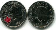 25 центов 2012 год (годовщина войны 1812 года) Канада