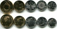Набор монет Соломоновых островов 2012 год