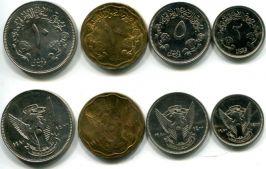 Набор монет Судана 1980 год