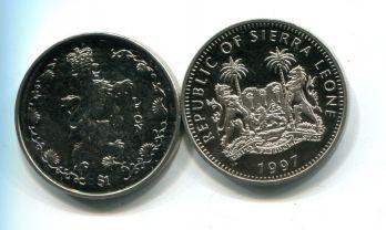 1 доллар 1997 год (лев) Сьерра-Леоне
