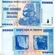 10 000 000 000 000 долларов 2008 год Зимбабве