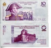 10 гурд 2004 год (200 лет независимости) Гаити