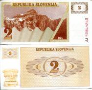 2 толлара 1990 год Словения