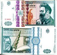 500 лей 1992 год Румыния