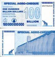100 000 000 000 долларов Зимбабве