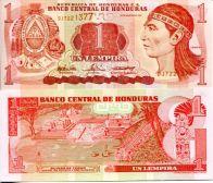 1 лемпир 2010 год Гондурас