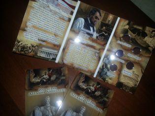 Альбом для монет 1 цент США 200-летие Авраама Линкольна