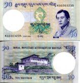 10 нгултрум 2006 год Бутан
