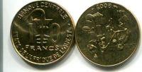 10 франков 2002 или 2005 год Западная Африка