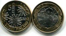 5 евро (лютик, 2012 г.) Финляндия