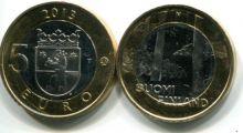 5 евро (Некрополь, 2013 г.) Финляндия
