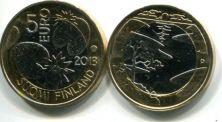 5 евро (Лето, 2013 г.) Финляндия