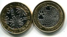 5 евро (следы, 2013 г.) Финляндия