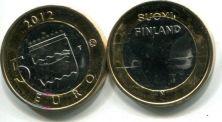 5 евро (купола соборов, 2012 г.) Финляндия