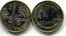 5 евро (Зима, 2012 г.) Финляндия