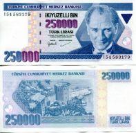 250000 лир Турция