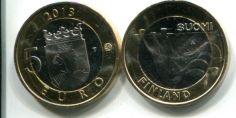 5 евро (Карелия, 2013 г.) Финляндия