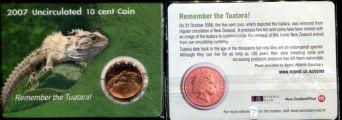 10 центов (Туатара, 2007г.) Новая Зеландия