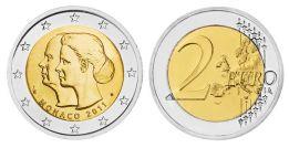 2 евро (2011 г.) Монако