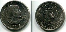 1 доллар (Сьюзен Энтони, 1979 год) США