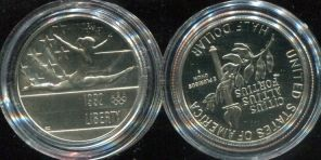 1/2 доллара (Олимпиада, 1992 год) США