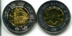 2 доллара 2012 год (парусник) Канада