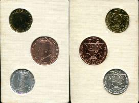 Набор монет Андорры (1984 год)